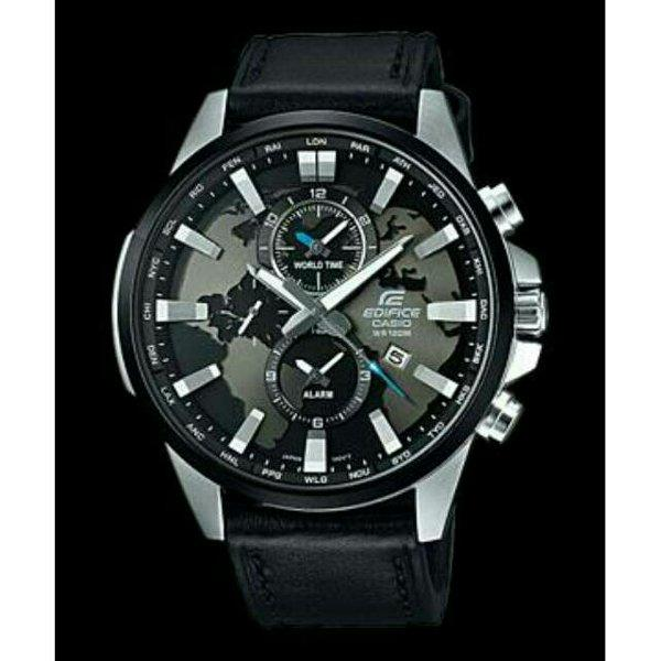 Fitur Jam Tangan Pria Formal Casio Edifice Efr 539 Leather Series ... 6482da5aff