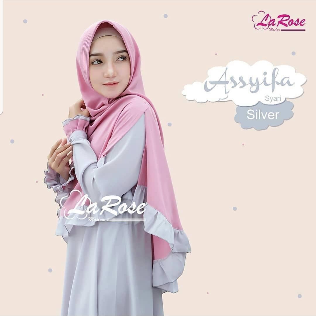 Features Baju Muslim Original Gamis Rabbani Syari Dress Moscrepe