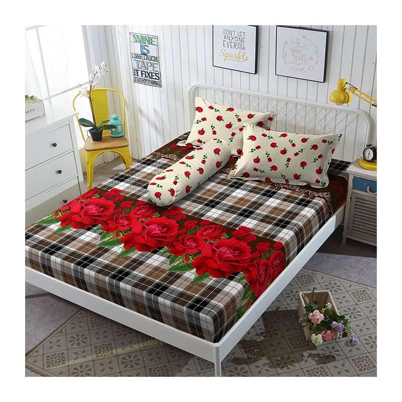 Kintakun Sprei D'luxe - 180 x 200 B2 (King) - Blooming