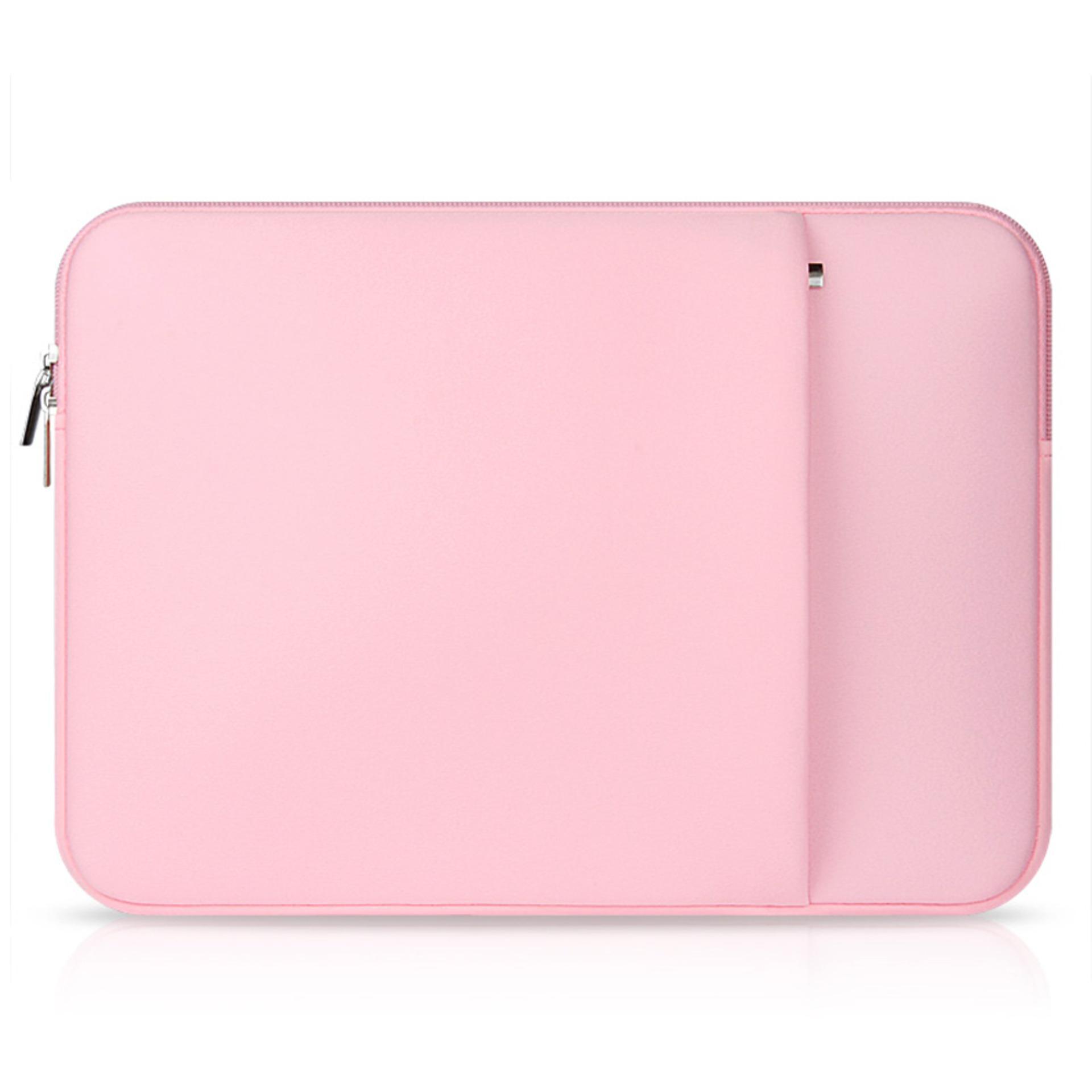 Jual Laptop Membawa Pelindung Lengan Baju Tas With Kantong Saku Samping For Universal 39 62 Cm Laptop Berwarna Merah Muda