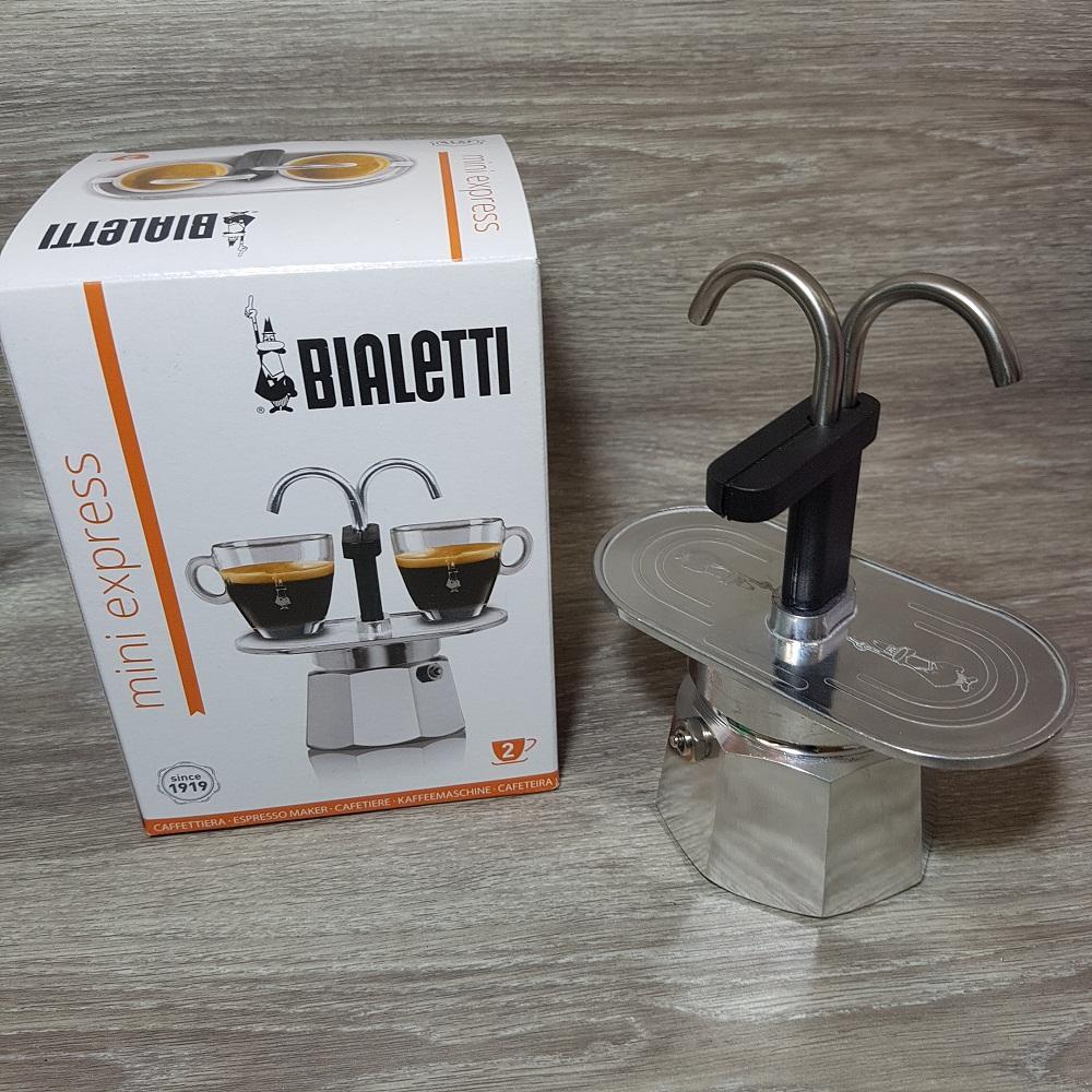 Bialetti Mini Express Espresso Coffee Maker 2 Cups - Moka Pot