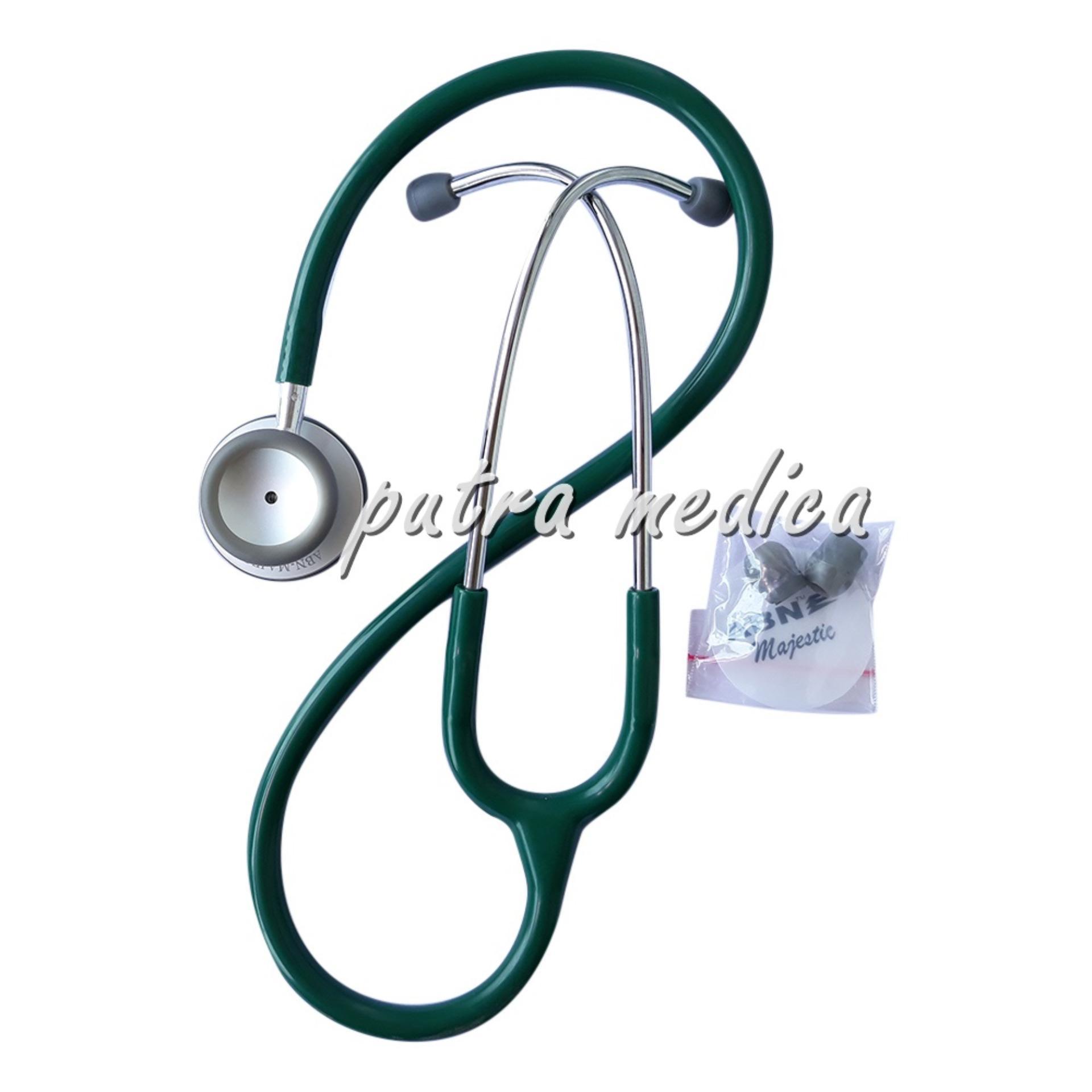 Putra Medica Abn Stetoskop Majestic Hunter Green Alat Kedokteran Putra Medica Diskon