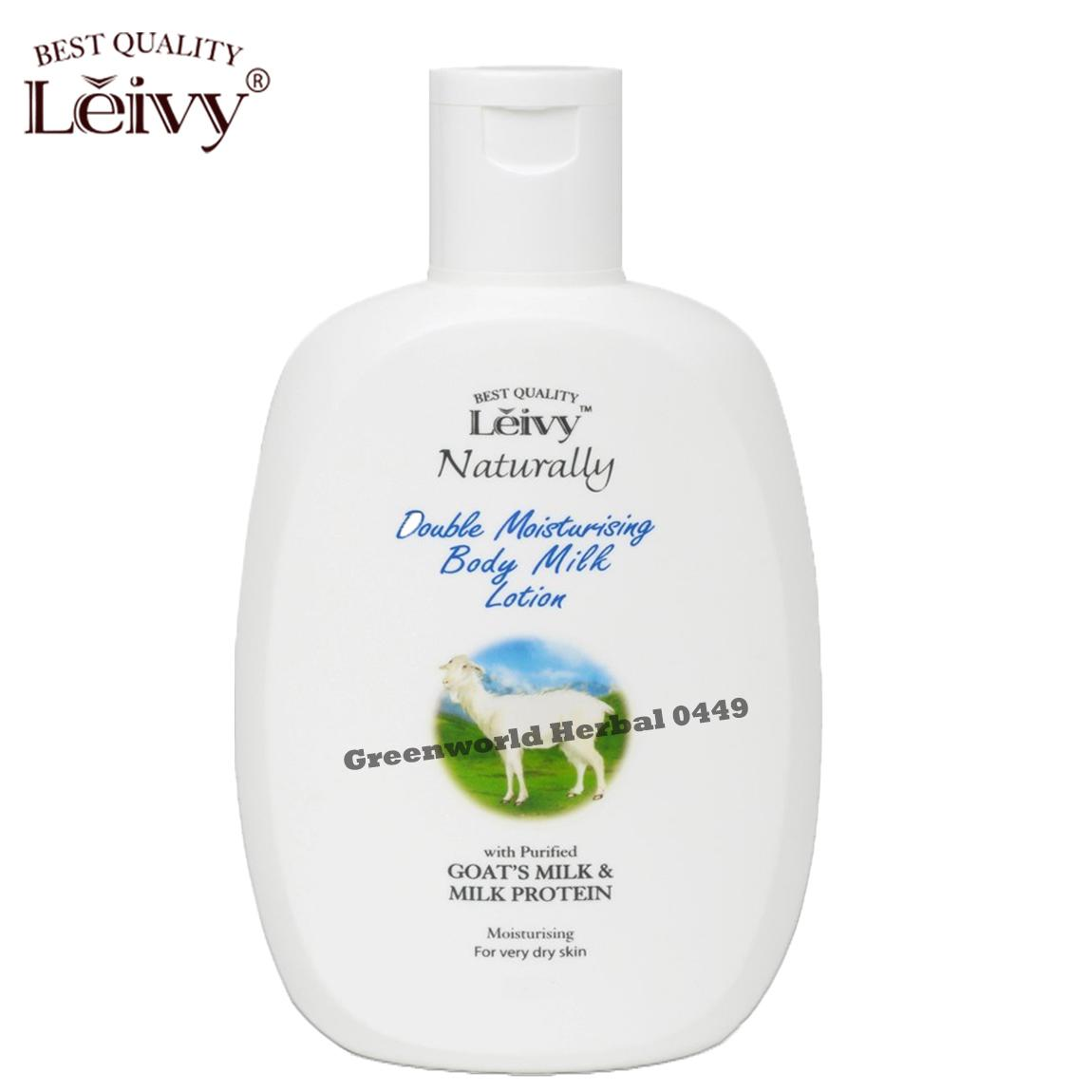 Detail Gambar Leivy - Double Moisturizing Hand & Body Lotion 270 ml - Original Terbaru