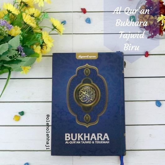 Harga Al Quran Bukhara Tajwid Dan Terjemahan Ukuran Sedang Hard Cover Biru Branded