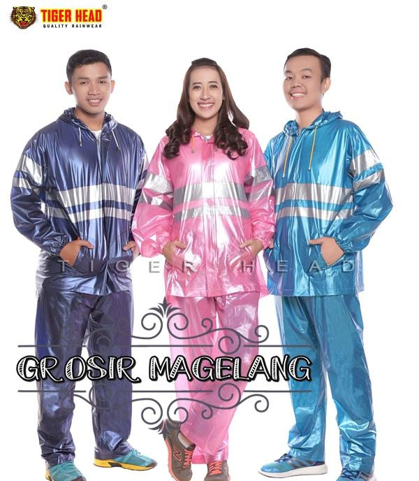 Jas Hujan Mantel Jaket Celana Tiger Head Urban Kualitas Premium