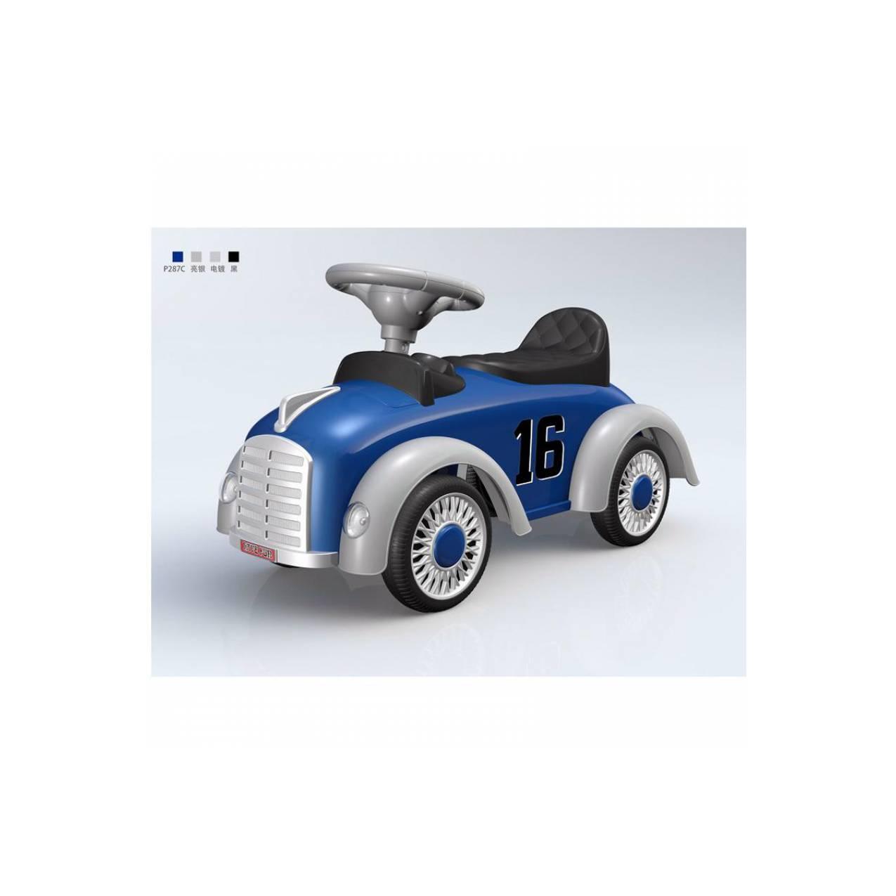 Ride On Pliko 539 Race Car Blue