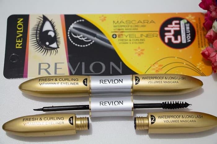 ... Terlaris Set 2 In 1 Revlon Maskara Curly And Eyeliner Long Lasting 24 Hours WaterProof Revlon ...