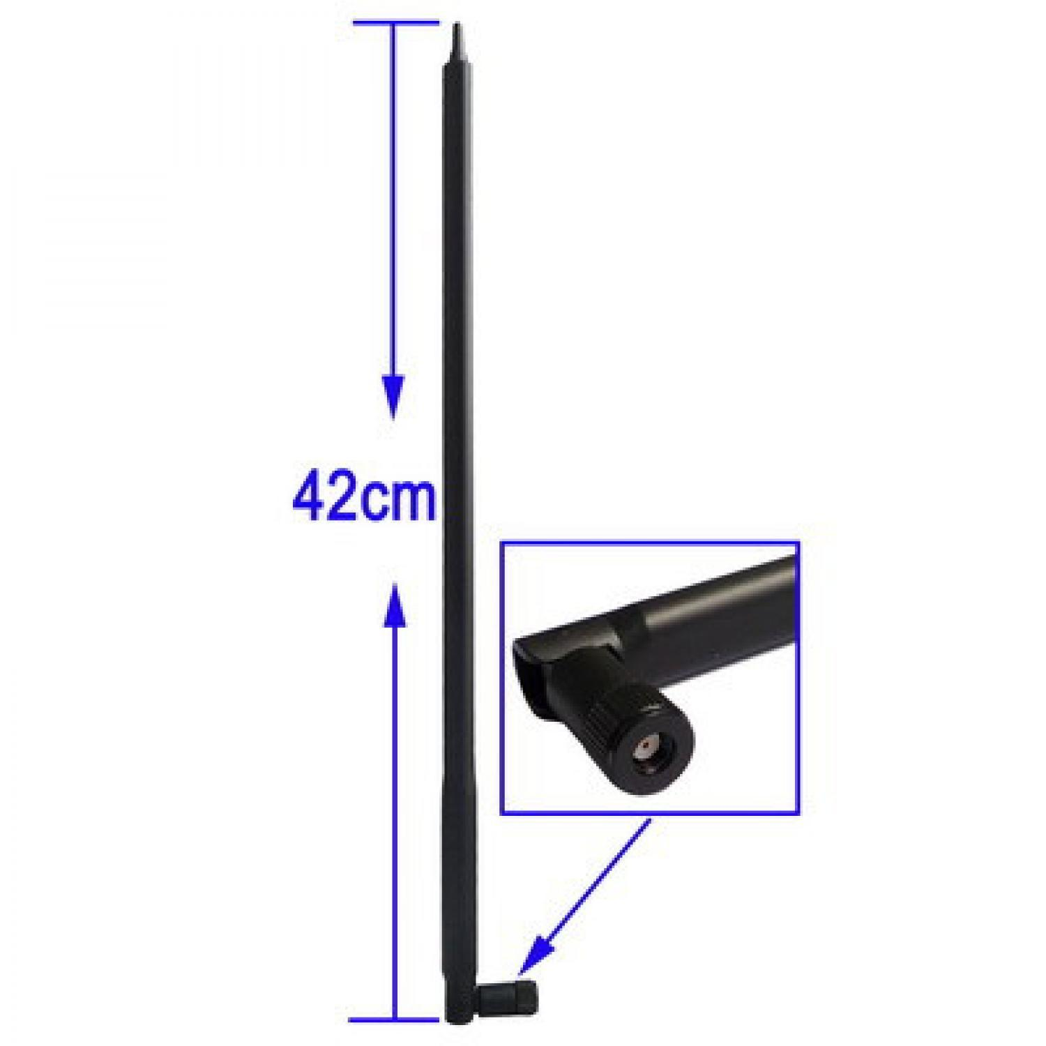 Kelebihan Hot Rp Sma 2 4ghz 7 Dbi Wireless Wifi Wlan Router 5 X Xiaomi Mi Home Repeater Pro Amplifier Extender 24g 300m Hitam Rimas Antenna For Network 24ghz 22dbi Antena