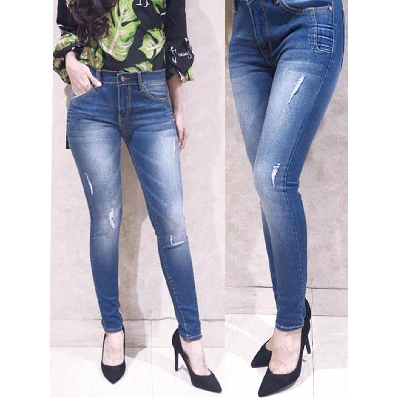 Celana Jeans Wanita - Ripped Whis DMD 659 BTN - ANCIEN STORE