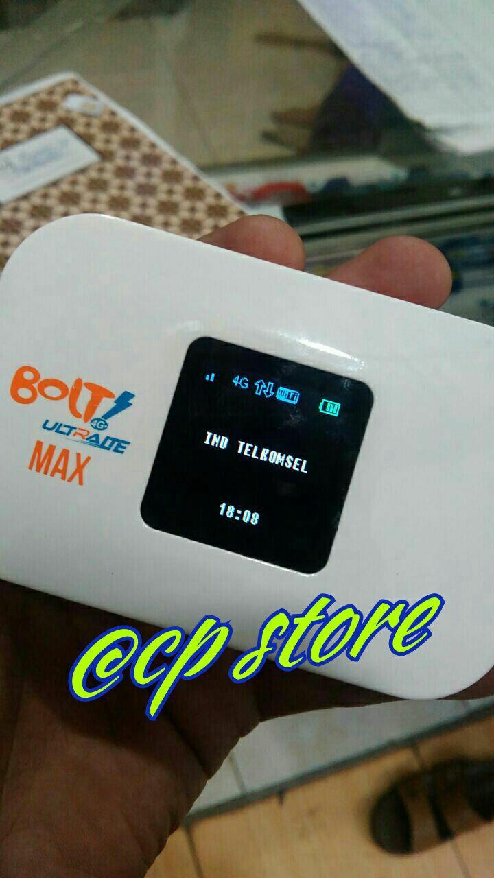 Gambar Produk Rinci Mifi Modem Wifi Bolt Aquila Max UNLOCK Telkomsel/ Smartfren Terkini