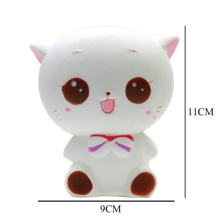 Detail Gambar Mainan anak squishy kucing jumbo best seller new model Terbaru