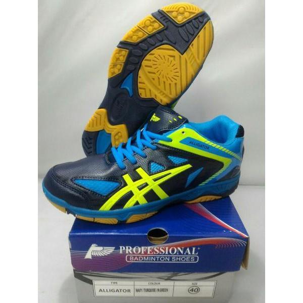 Super Promo! Sepatu Badminton Profesional Alligator Original