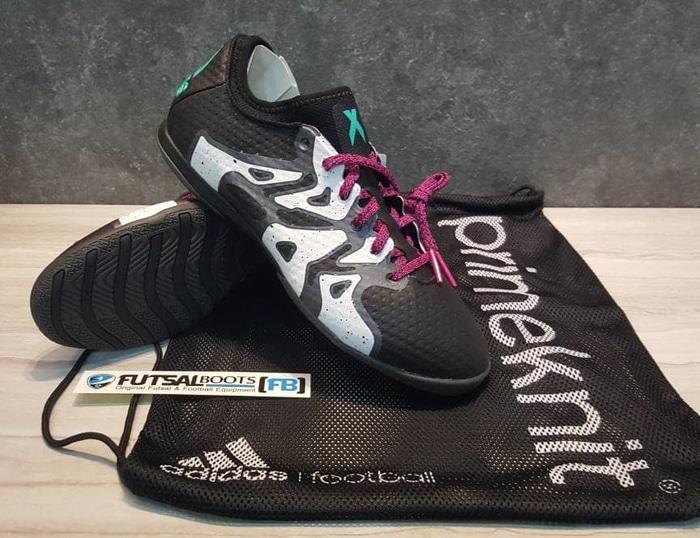 SALE Adidas X15+ Primeknit IN - Black/Pink