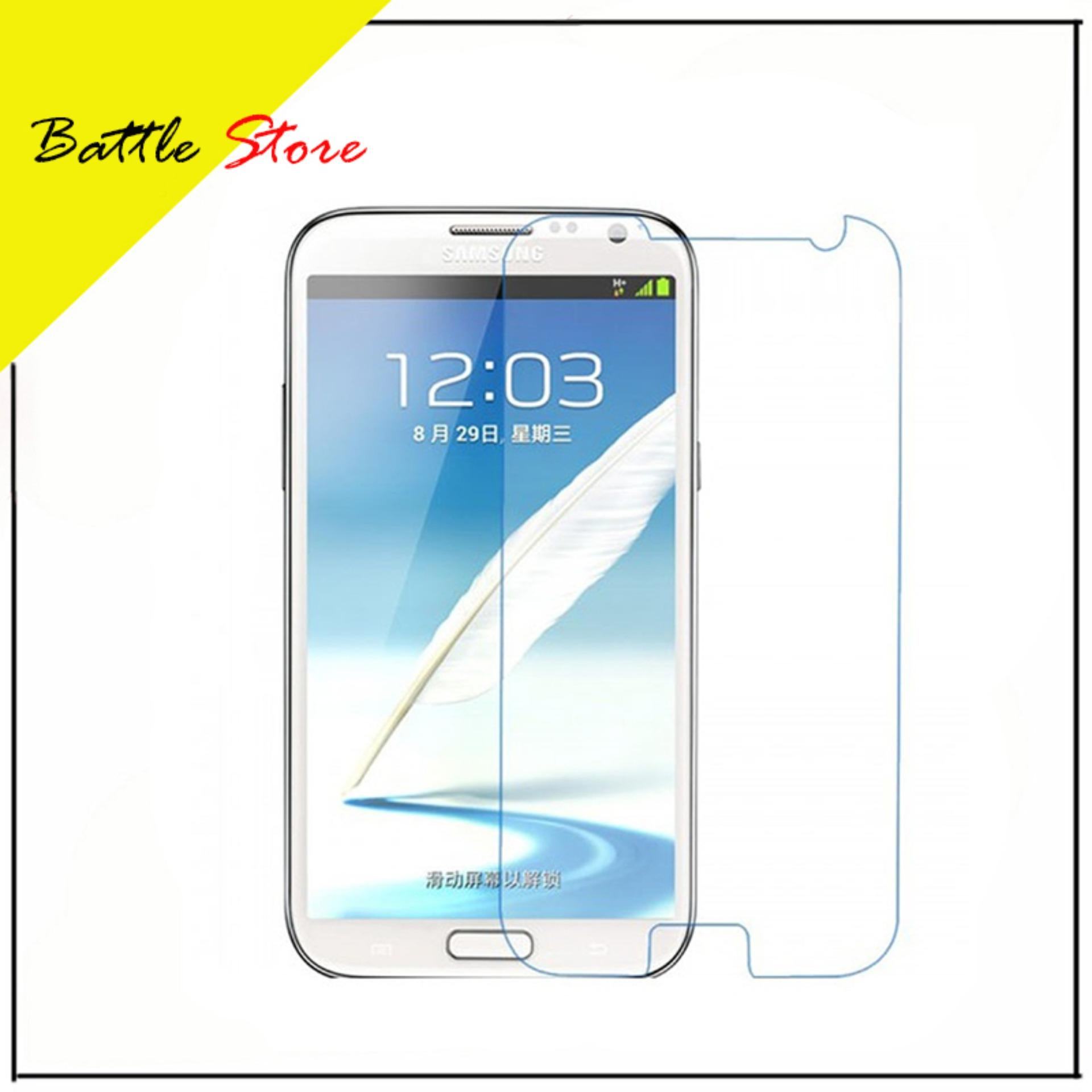 Samsung Galaxy Mega 5 8 I9150 Premium Smile Screen Protector Tempered Glass Anti Gores Kaca White Clear