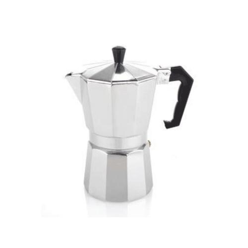 Coffee Gear Mokapot Coffee Espresso Maker Silver (6 cups)