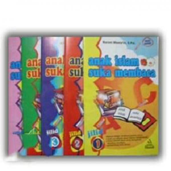 Detail Gambar Paket 1 Set Buku Anak Islam Suka Membaca Isi 5 buku Jilid 1-5 Terkini