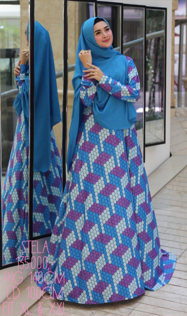 Fitur Nurulcollection Baju Dress Gaun Gamis Syari Murah Gamis
