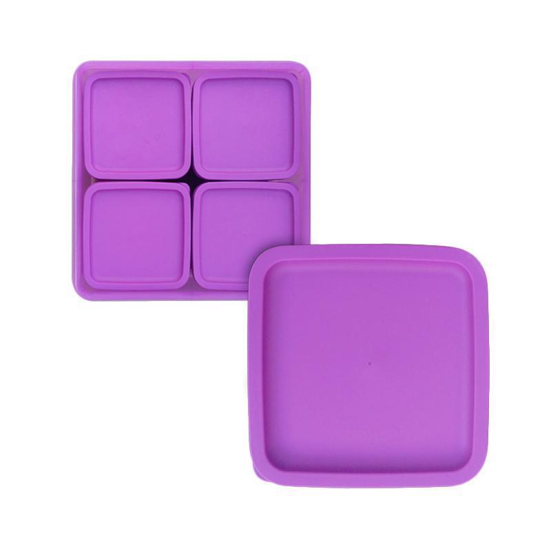 Detail Gambar Tempat Makan / Calista Oedo Persegi Kotak Makan / Tempat Makan Anak / Tempak Makan Dewasa / Tuperware / Tempat Makan Unik Terbaru