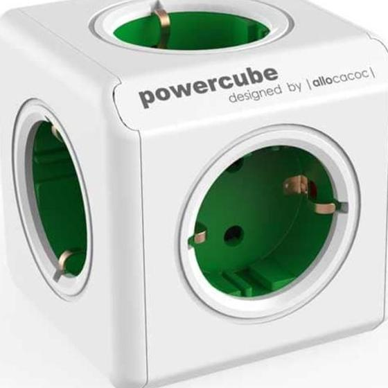 Allocacoc PowerCube Extended 1.5m - Stop Kontak Cube 5 Lubang