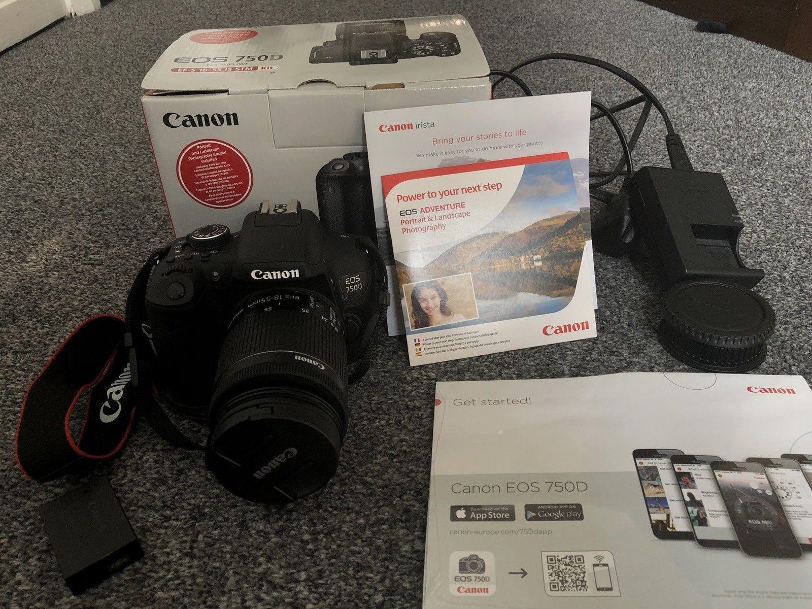 Detail Gambar Canon EOS 750D Kit EF S18 55mm IS STM Terbaru