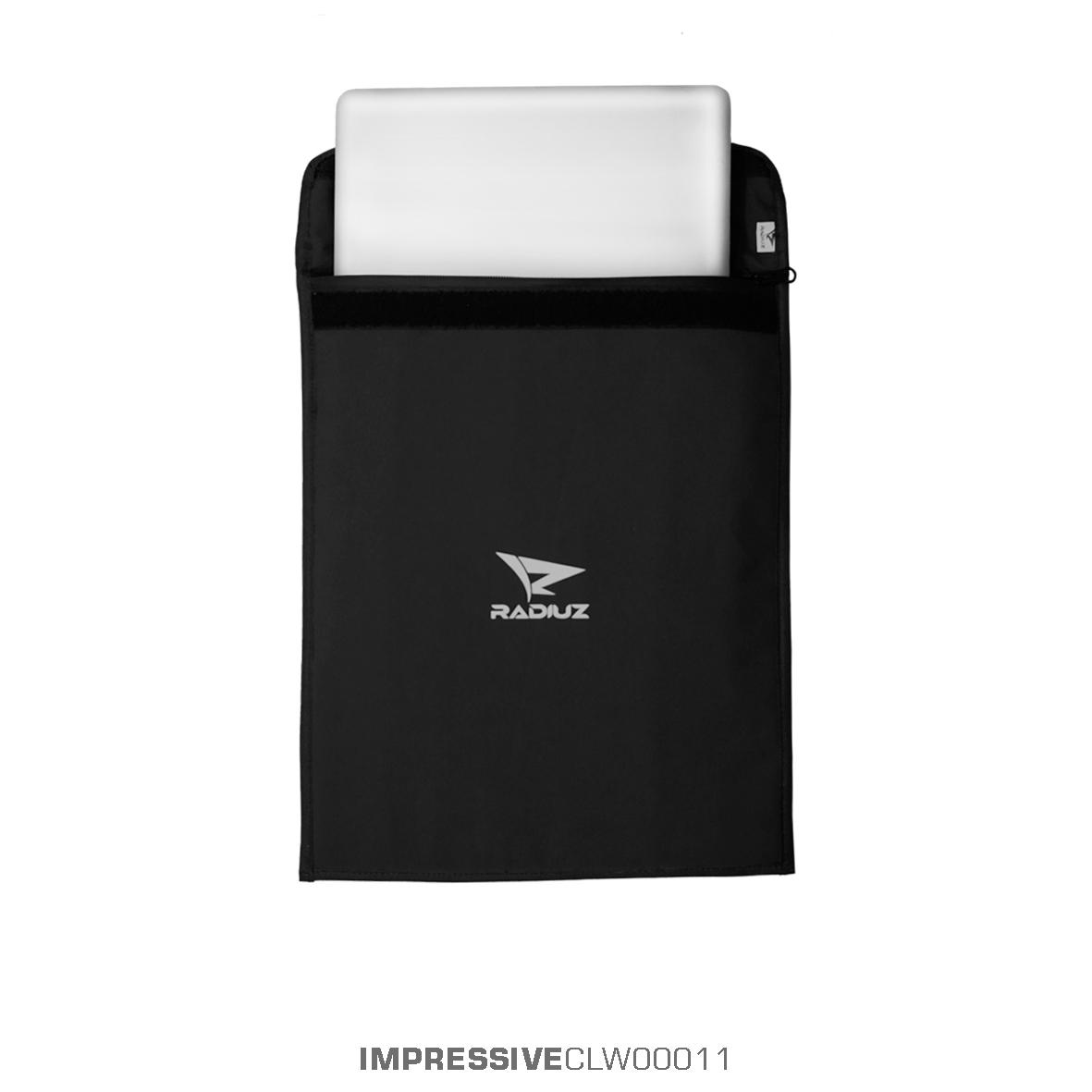 Detail Gambar Tas Sleeve Softcase Laptop Waterproof Anti Air Jinjing 14  inch Hitam Black - RADIUZ d227744cb5