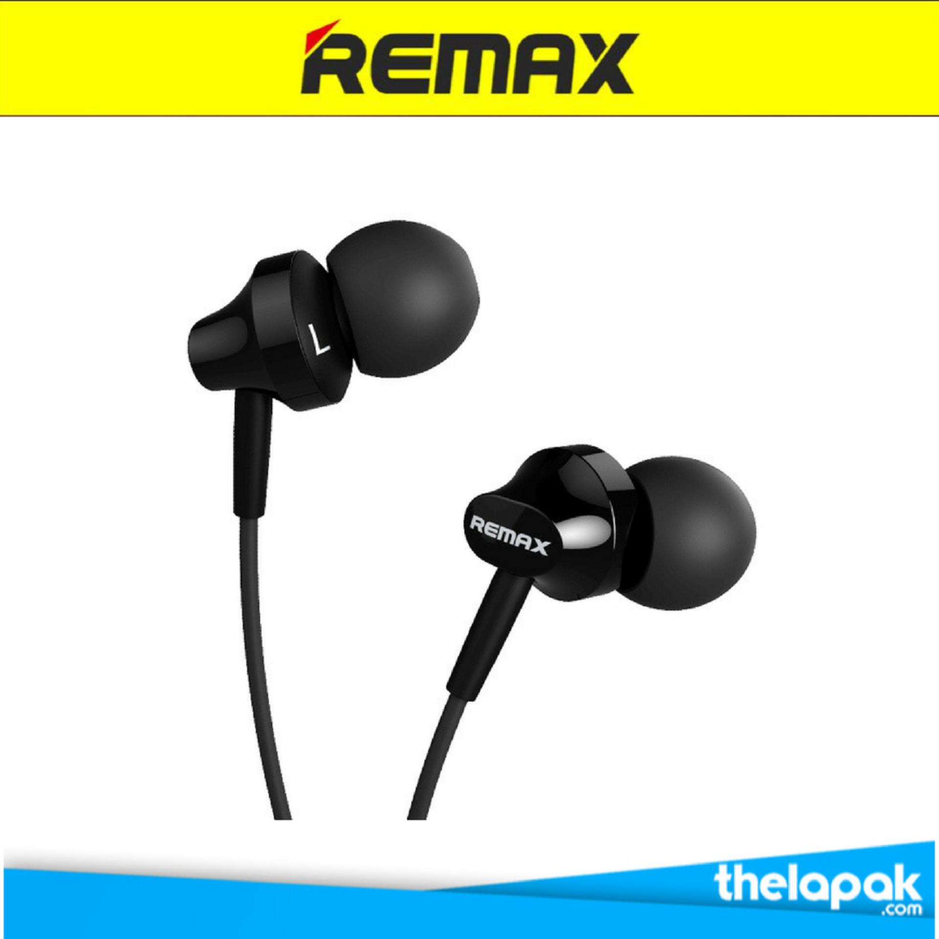 Jual Remax Earphone Headset Rm501 For Iphone Android Hitam Grosir