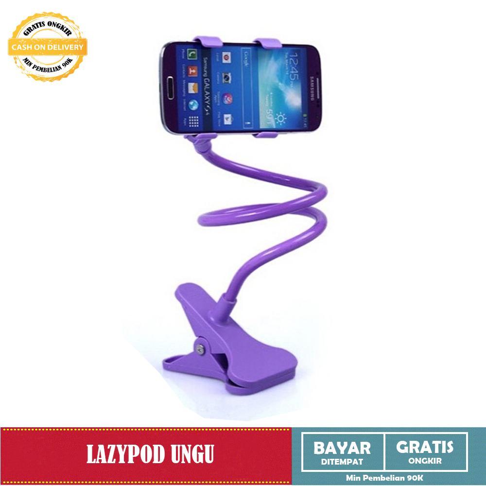 Lazypod Mobile Phone Monopod Penjepit HP Elastis Lazy Pod