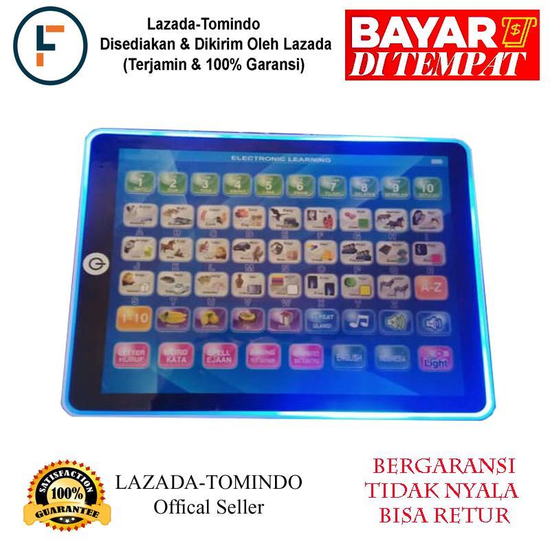 Eigia Led E Book 2 Bahasa Indonesia & Inggris Mainan Edukasi 7l Pink Source · Family