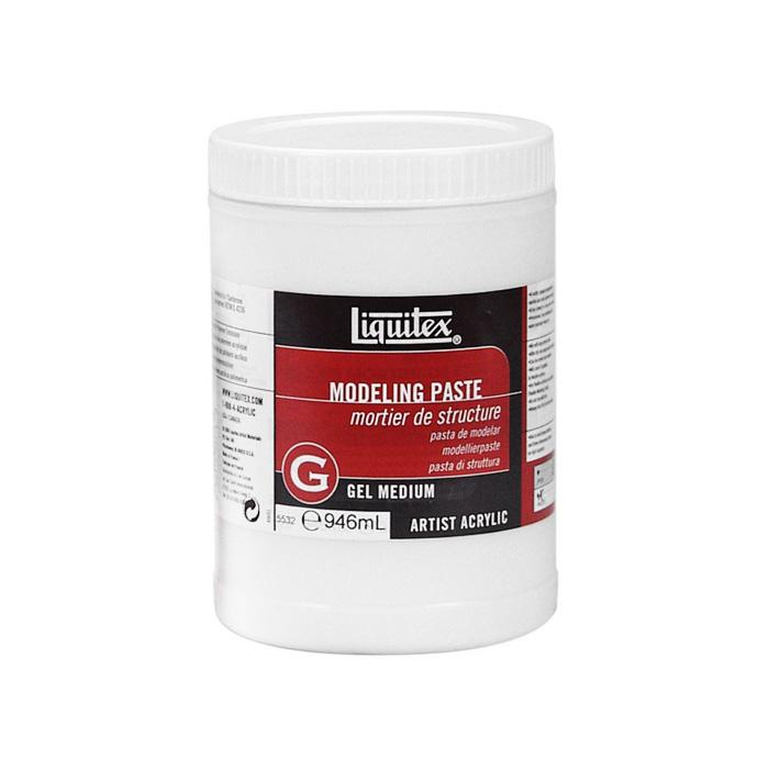 TERMURAH LIQUITEX Modeling Paste 946ml Artist Acrylic Gel Medium Alat Seni Lukis