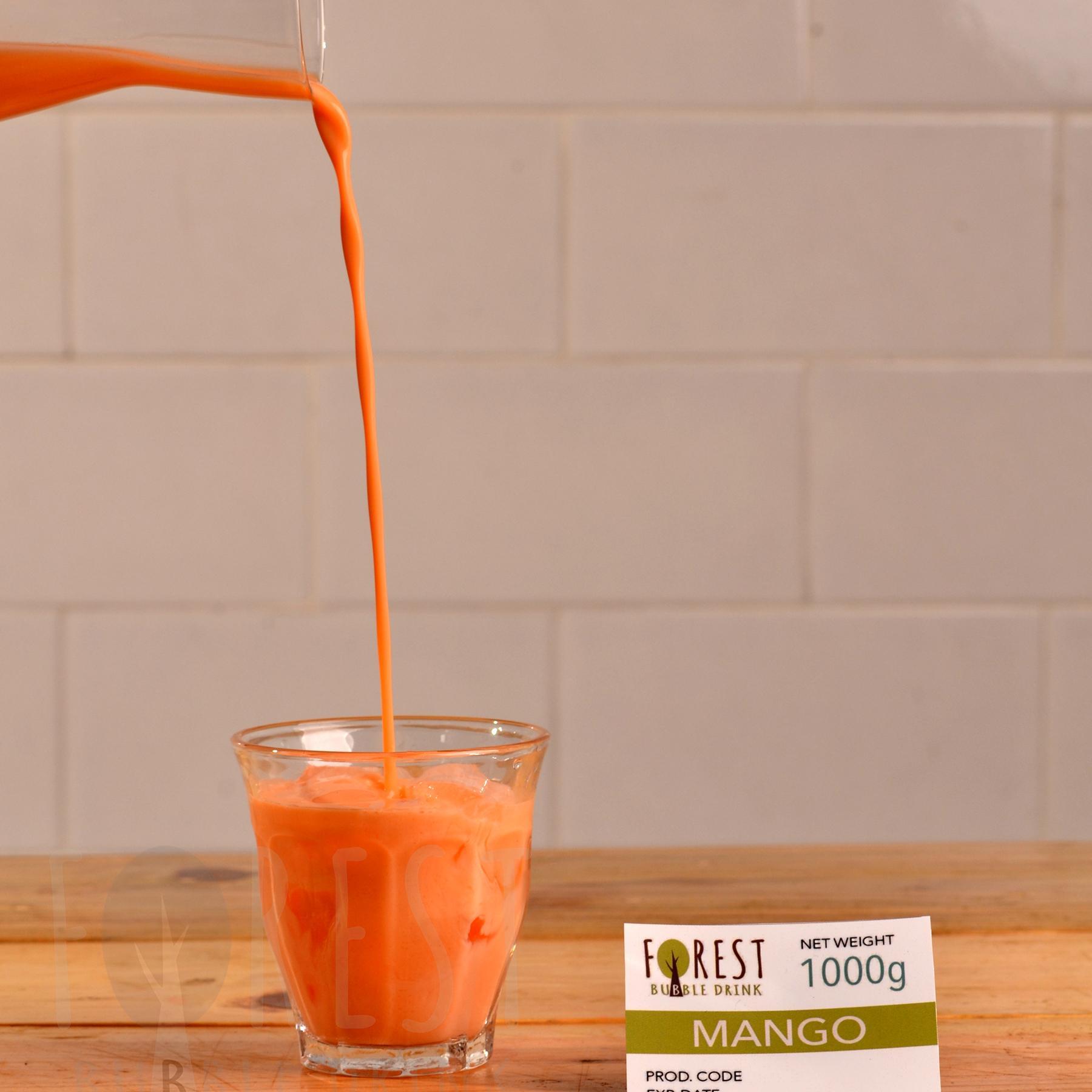 Bubuk Minuman MANGO Powder 1000g - Forest Bubble Drink