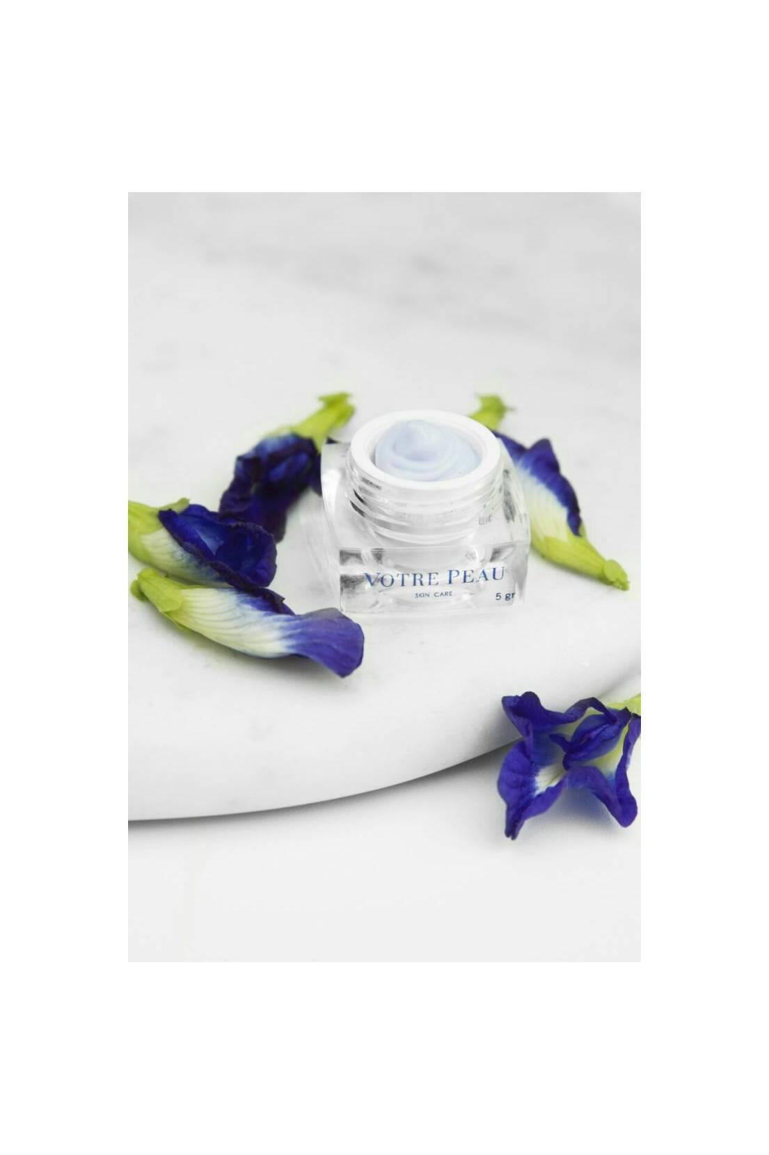 VOTRE PEAU MAGIC BLUE PEA FLOWER EYE CREAM 5 GR
