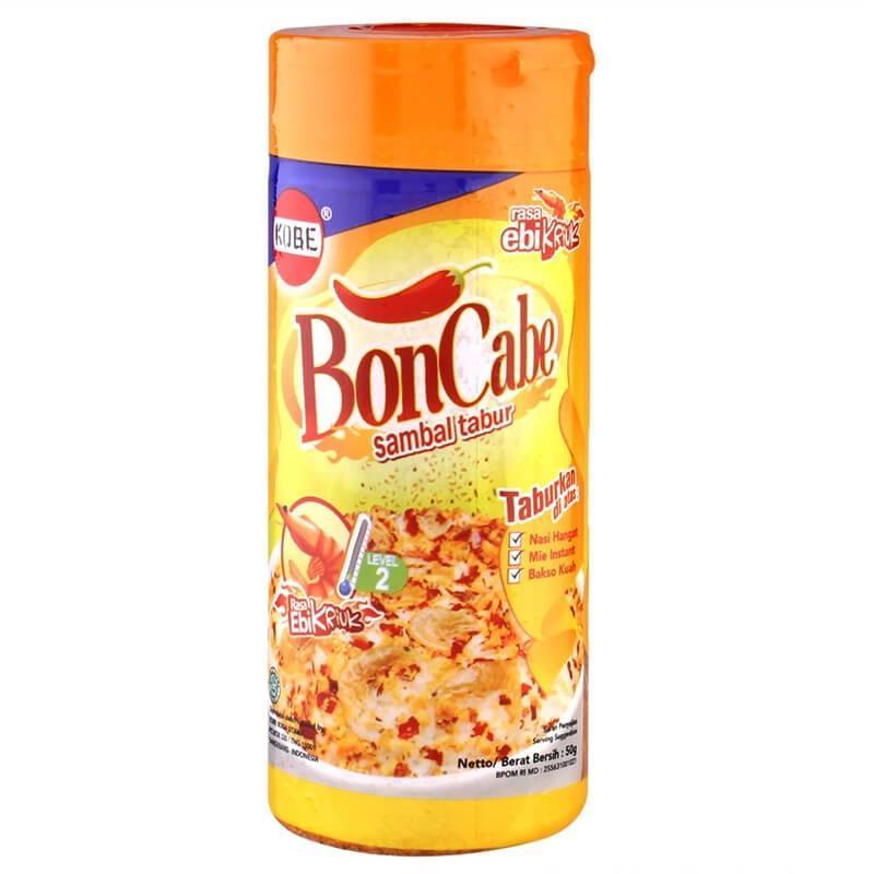 BonCabe Ebi Kriuk Botol 50g