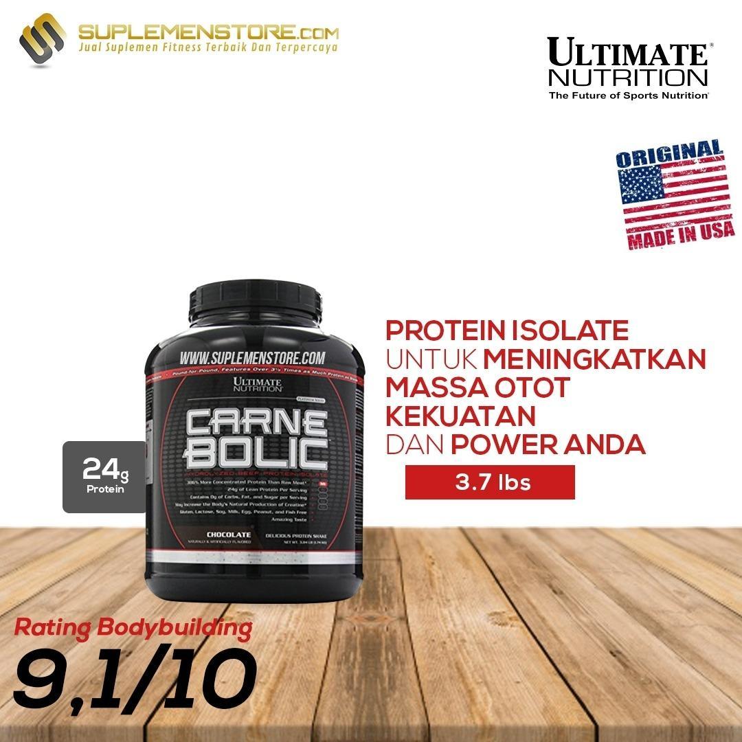 Review Terbaik Ultimate Nutrition Carnebolic 3 7Lb Coklat