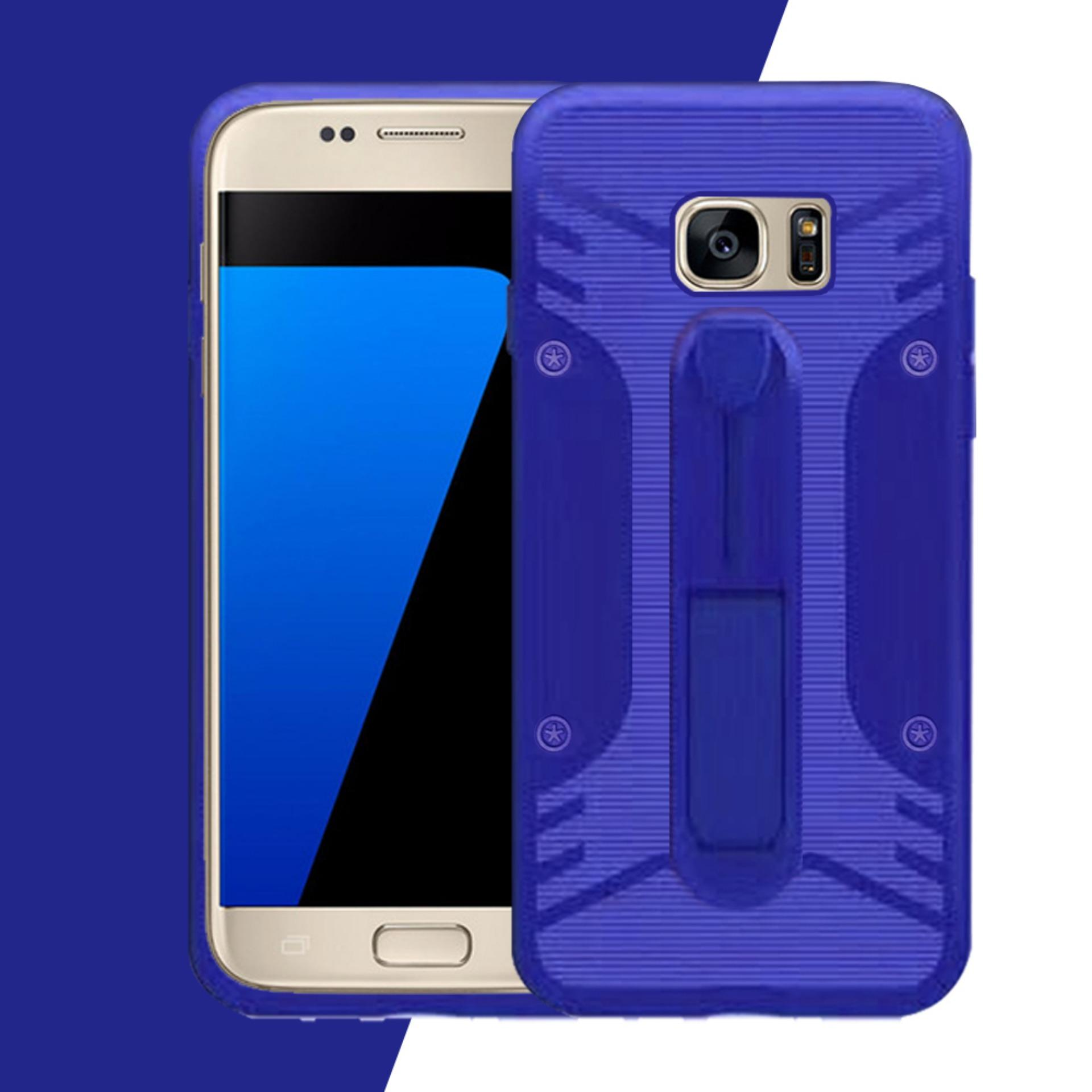 Case Samsung S7 Conure 3in1 Smart Grip COCOSE IPAKY Drop resistance anti Shock Silicone Cover