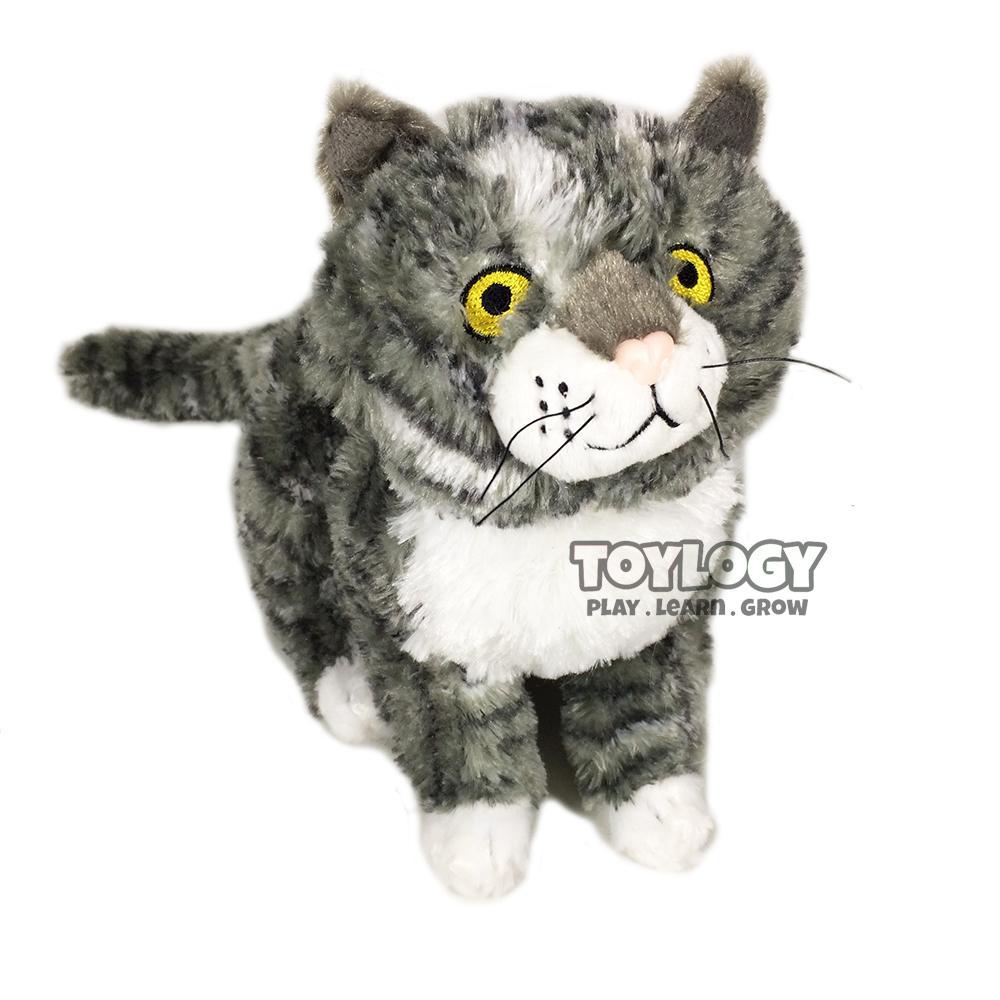 Boneka Kucing ( Cat Animal Stuffed Plush Doll ) 9.5 inch Gray
