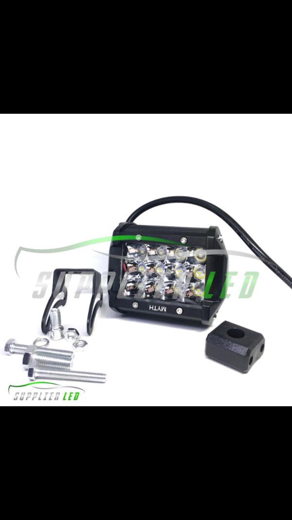 Cek Harga Baru Lampu Tembak Led 2 Mata Sorot Titik Cree U5 Transformer Light Motor Offroad 12 Tiga Susun Sangat Terang