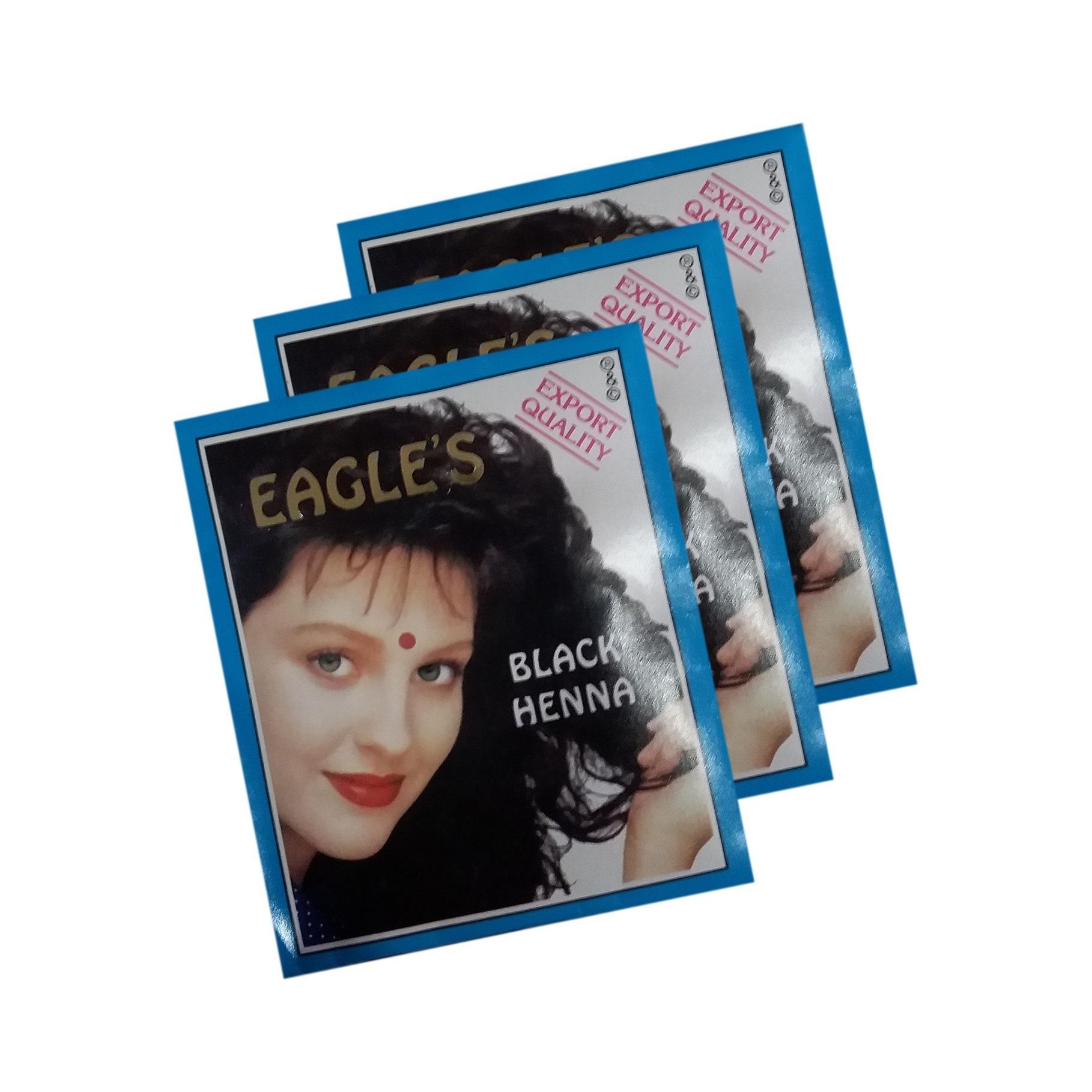 Eagle Semir Rambut Henna Black Daftar Harga Terbaru Dan Terupdate Buy 3 Get 2 Zubedah Inai Pewarna Chestnut Cat Eagles Hitam Isi Sachet Hena Bagus