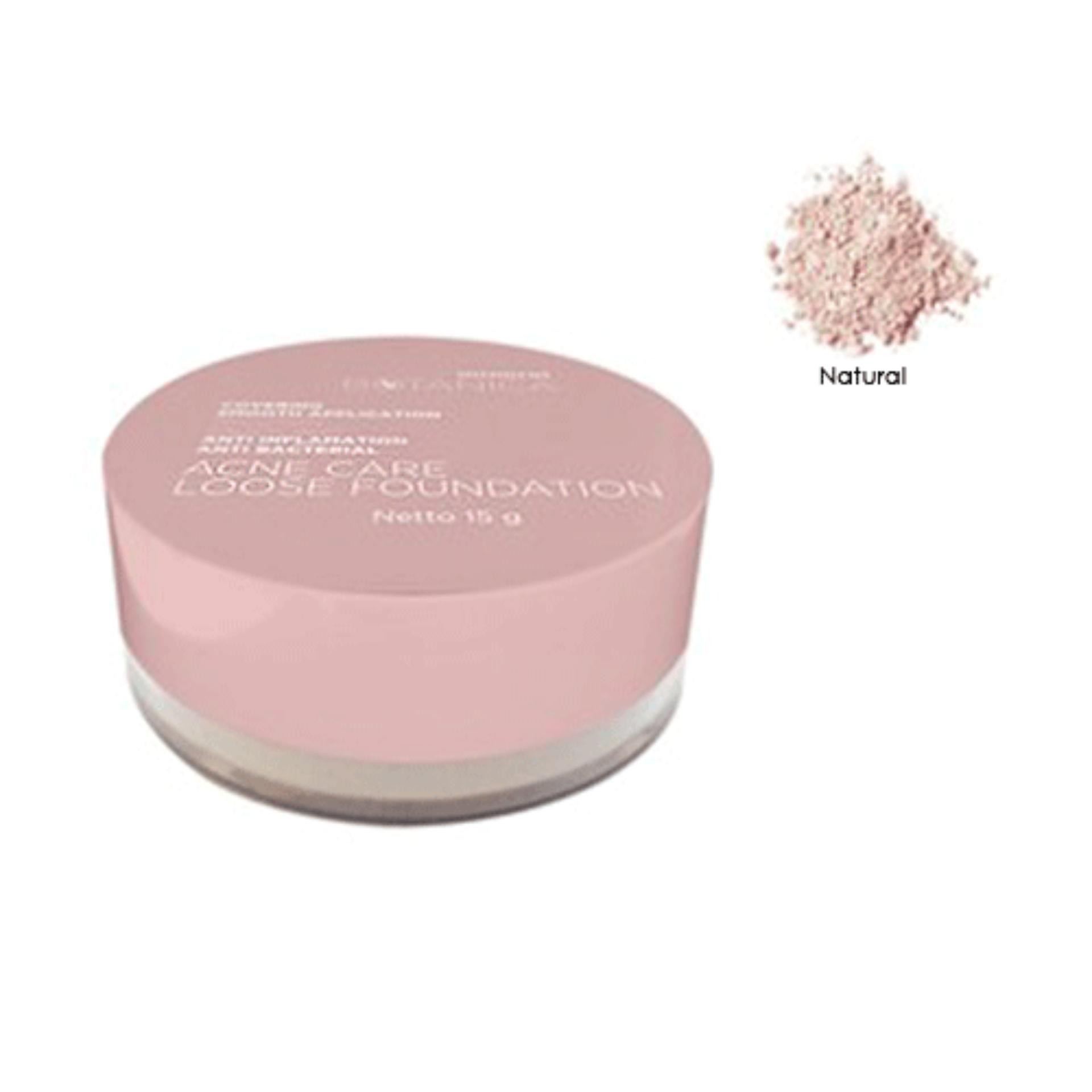 Fitur Mineral Botanica Original Loose Foundation Powder Emina Bare With Me Acne Care Natural