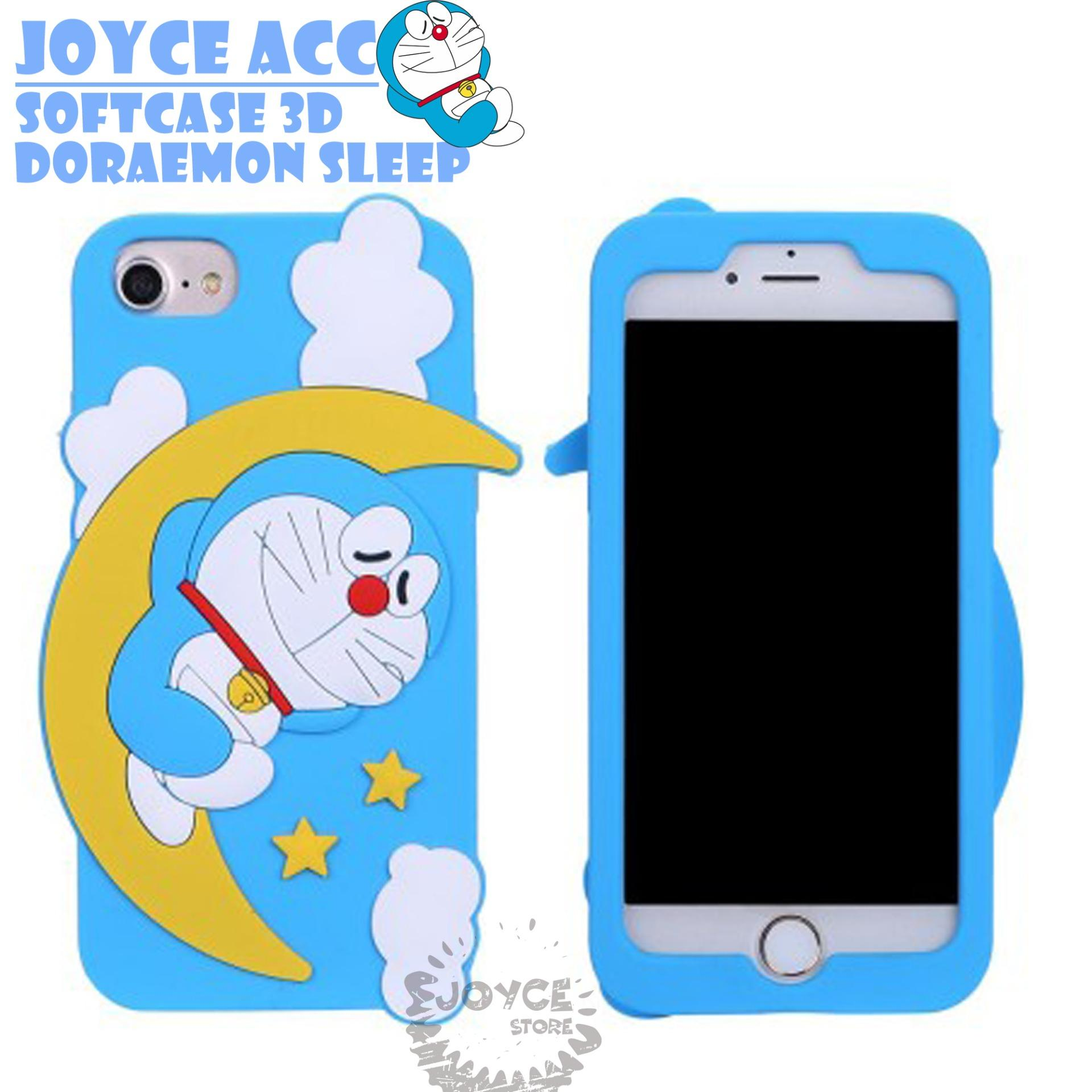 Detail Gambar Softcase 3D Cute Doraemon Sleep For Samsung J1 ACE Terbaru