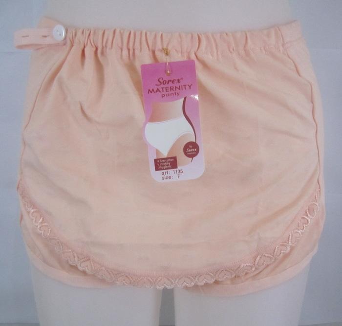 ... Pakaian Celana Dalam / CD Ibu Wanita Hamil (Maternity Panty) Maxi Sorex 1135 by