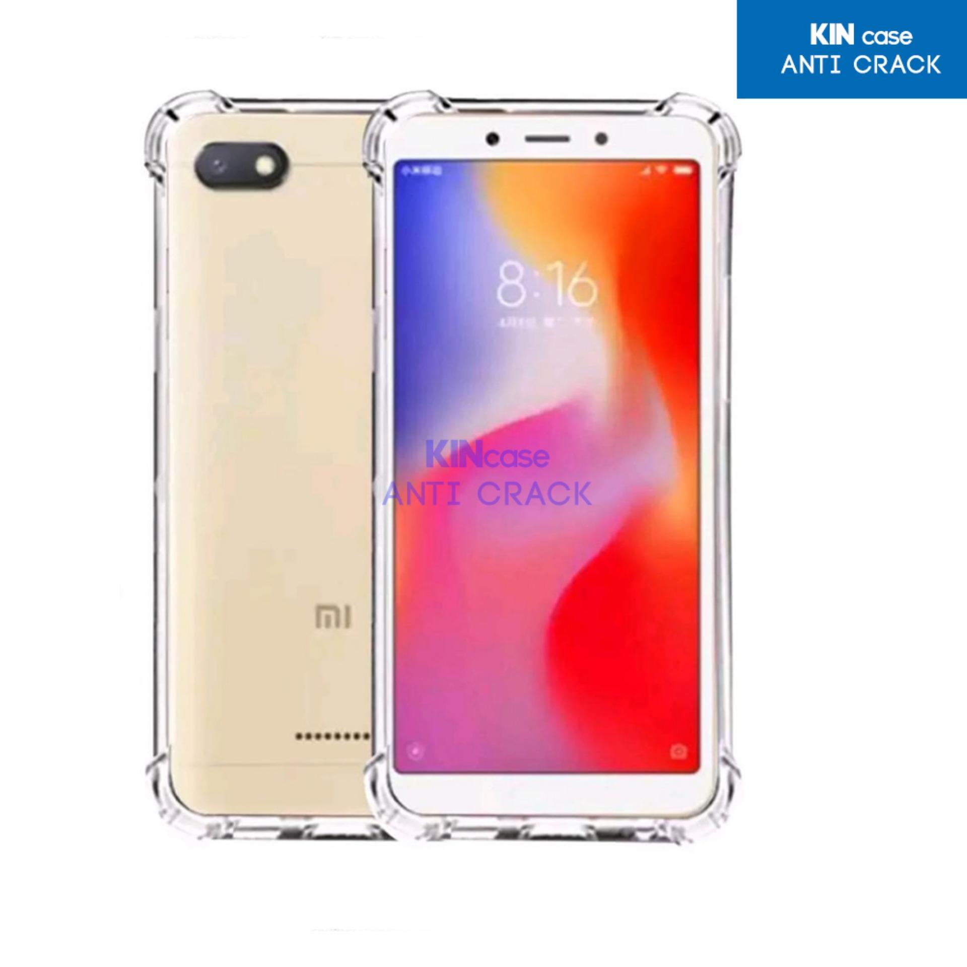 Kin Case Anti Crack Xiaomi Redmi 6A 2018 Ultra Thin Anti Shock Jelly Silikon Shockproof Softcase