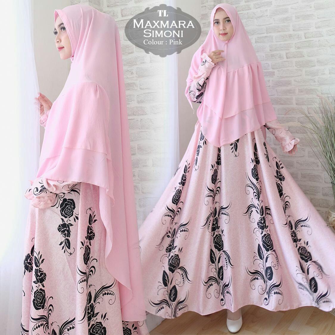 Model Humaira99 Gamis Syari Jumbo Dress Hijab Muslimah Atasan Lengan Panjang Wanita Maxmara Xxl Terbaru