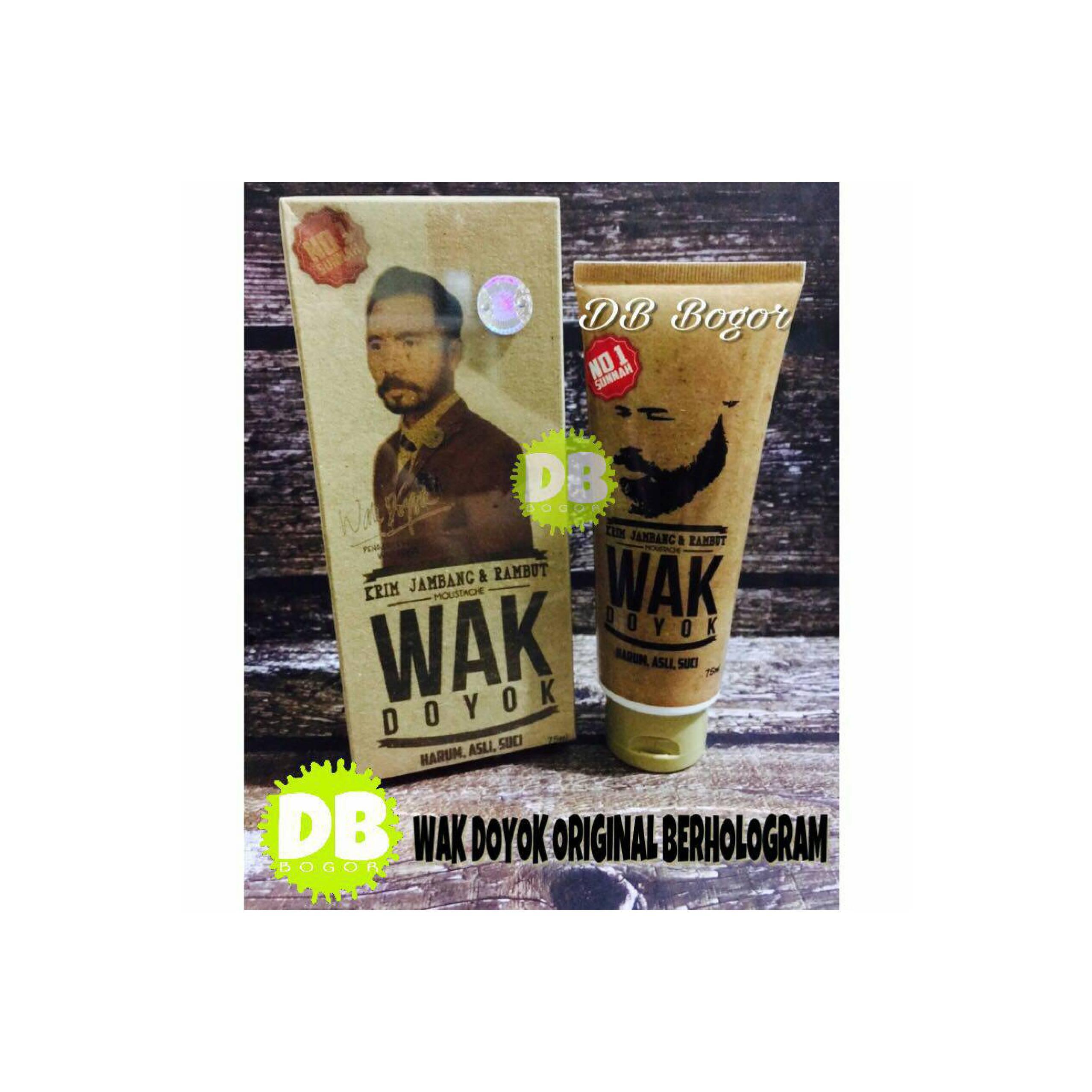Hoki Cod Cream Wak Doyok Penumbuh Rambut Jambang Premium Kumis Krim Wakdoyok Sample Jar Original 100 Source Ukuran Free Pinset Jepit Komedo 1 Pcs Terbaru