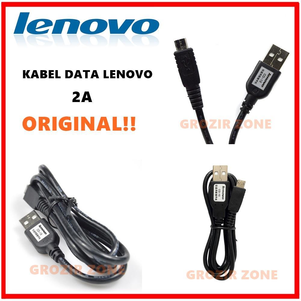 lenovo kabel data micro usb 2a cd-10 original – hitam ( grozir zone )
