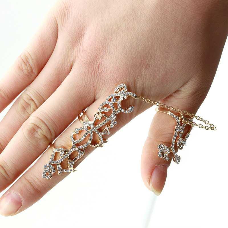 BEST SELLER cincin panjang emas berlian / long ring gold diamond JCI003 TERMURAH
