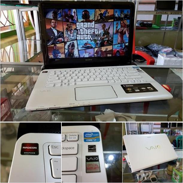 Laptop Gaming SONY VAIO WHITE SERIES- Core I7