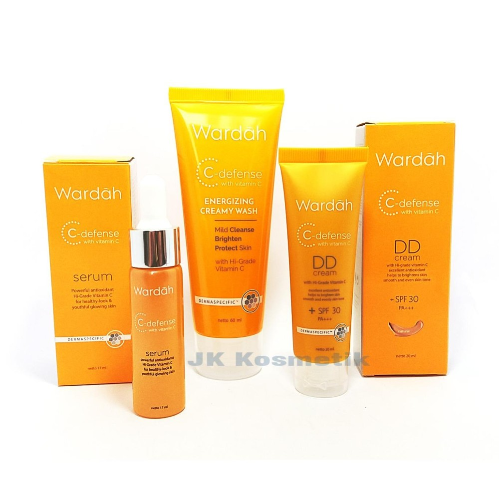 Diskon Wardah C Defense Series Natural Akhir Tahun