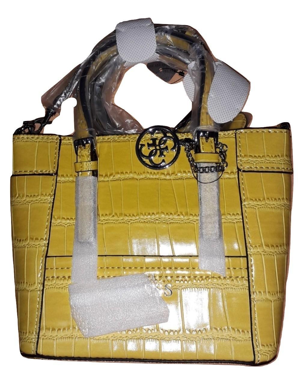 Tas Wanita Original Guess Delaney Woman Shoulder Bag NC453577 - Citrine 2451f9bef1