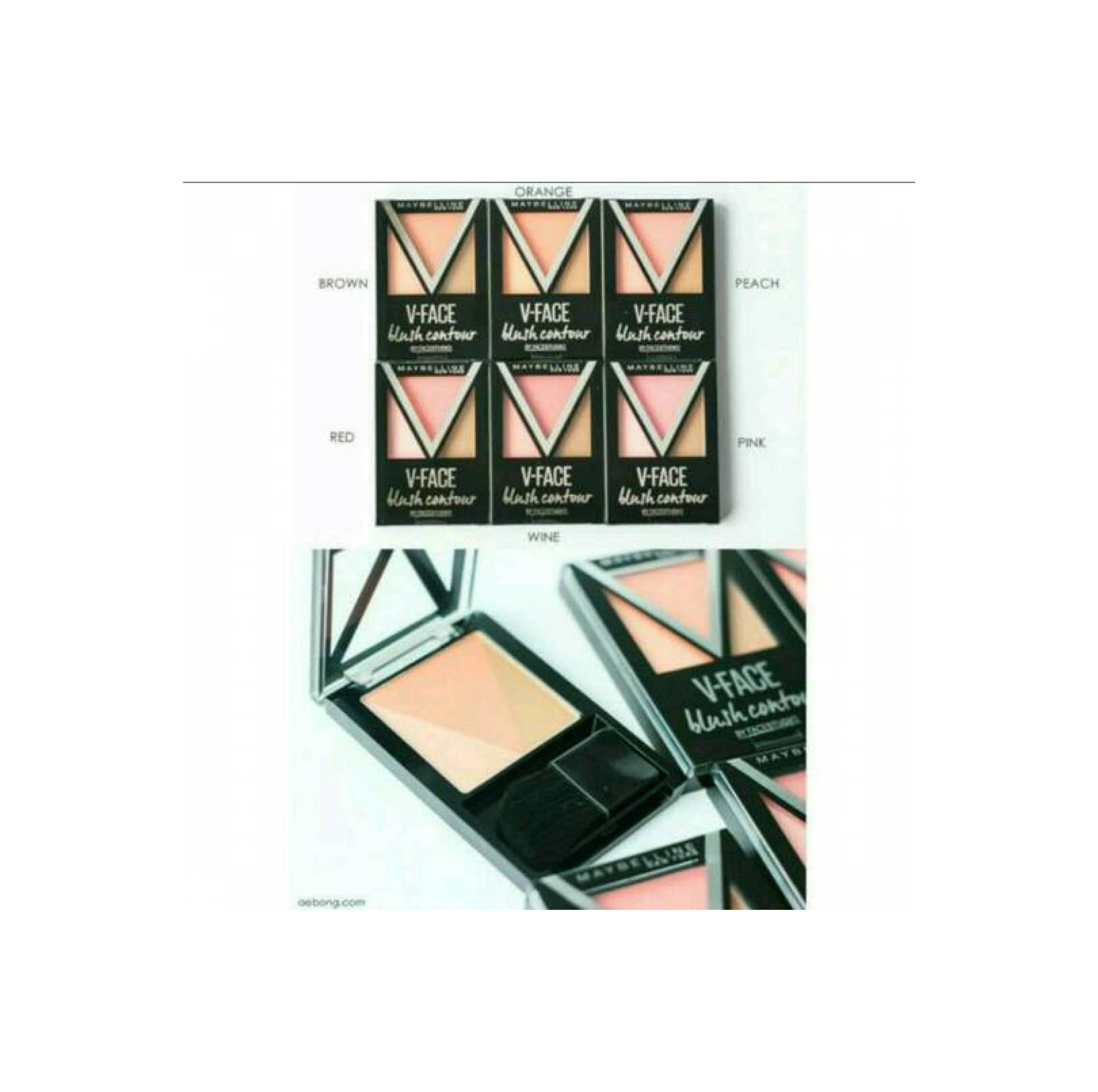 Perbandingan Harga Maybelline V Face Blush Contour Pink Meyne