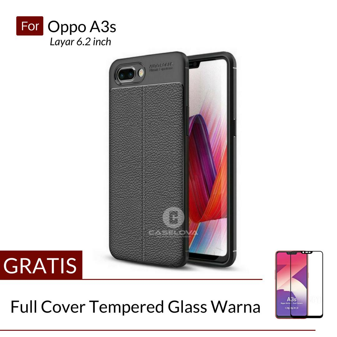 Caselova Ultimate Experience Shockproof Premium Quality Hybrid Case For Oppo A3s ( 6.2 inch ) -